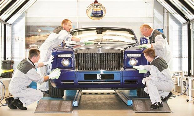 صناعة السيارات ببريطانيا