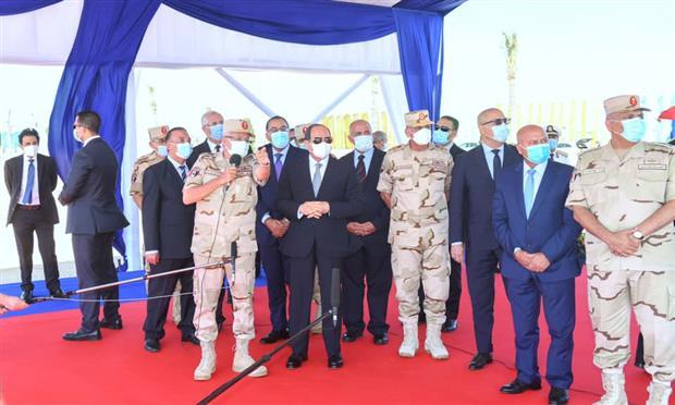 الرئيس يوجه بتطوير محاور الإسكندرية بقدرات استيعابية تصل إلى ٢٠ عامًا