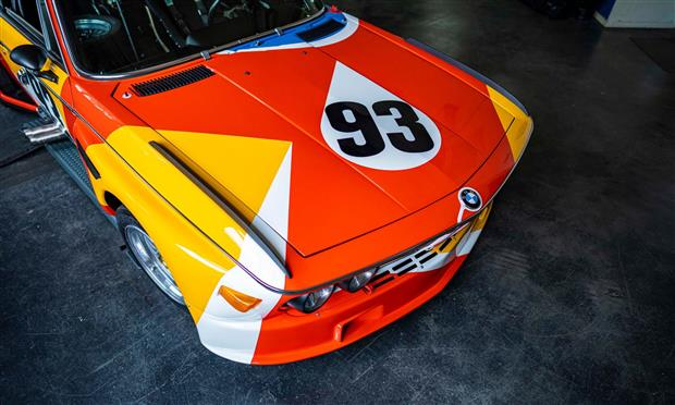 بي إم دابليو تضع 3.0 CSL ضمن مجموعة سياراتها الفنية
