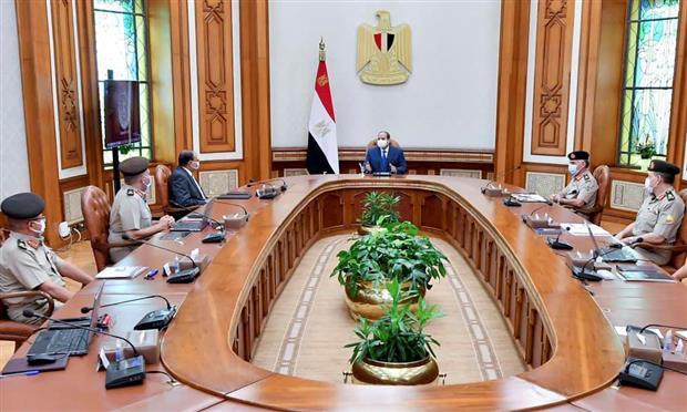 الرئيس يوجه بسرعة العمل على محاور نهر النيل