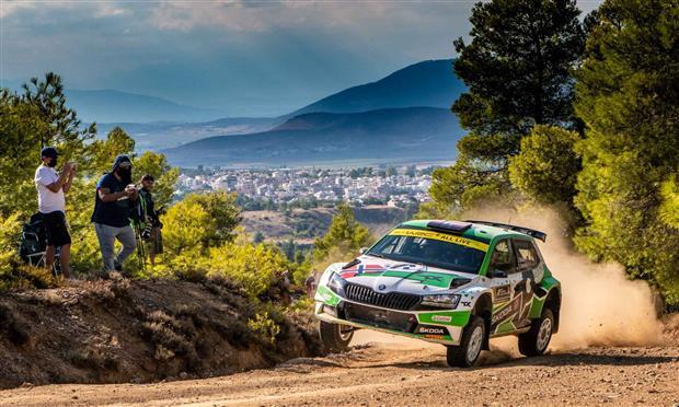 سكودا فابيا تتصدر رالي اليونان ببطولة WRC - صور