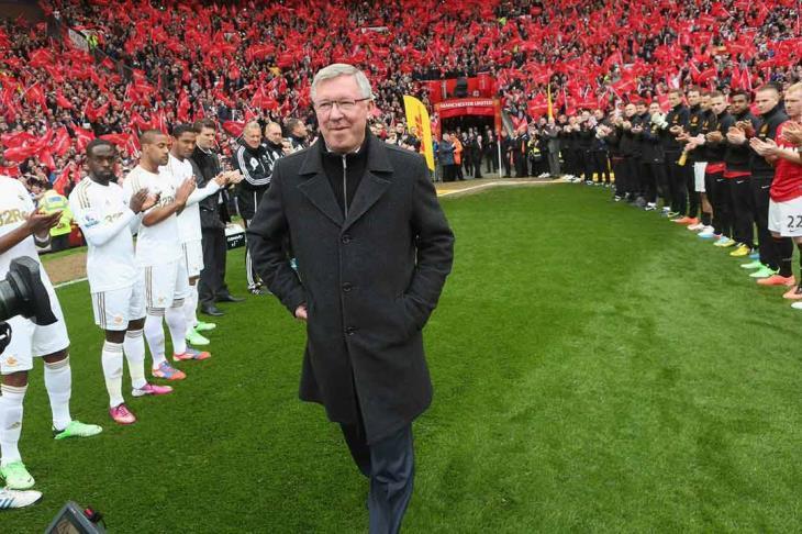 """فيرجسون: أشكر الله أنني اعتزلت قبل مواجهة ليفربول """"الاستثنائي"""""""