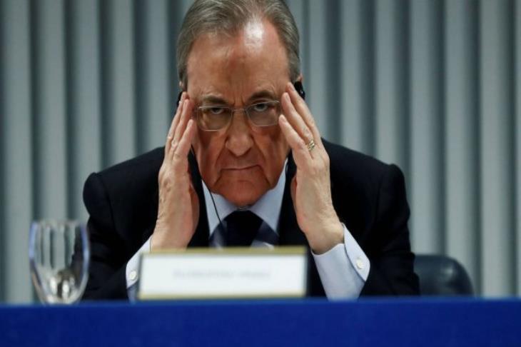 """""""تسريبات بيريز تتواصل"""".. رئيس ريال مدريد: رونالدو أحمق ومورينيو مختل"""