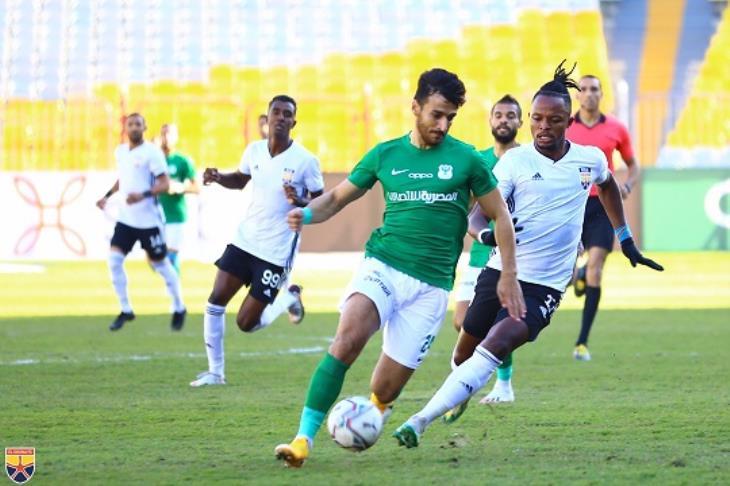 المصري يفوز على المحلة ويرتقي لثالث الدوري