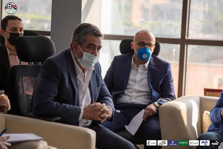 مجاهد: المباريات الكبرى بالحكام المصريين.. ولن نستبق الأحداث في واقعة شيكابالا