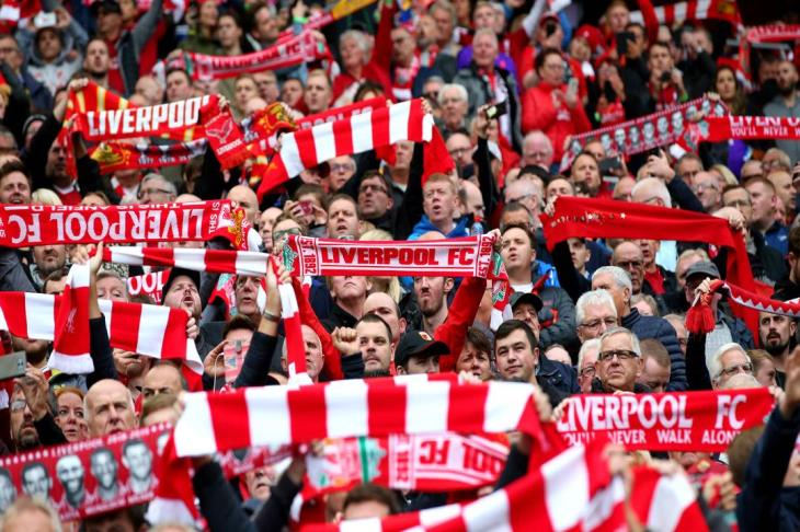 """""""10000 في أنفيلد"""".. مجلس مدينة ليفربول يوافق على حضور الجماهير"""