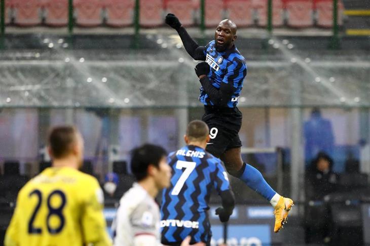 إنتر يفوز على بولونيا في الدوري الإيطالي