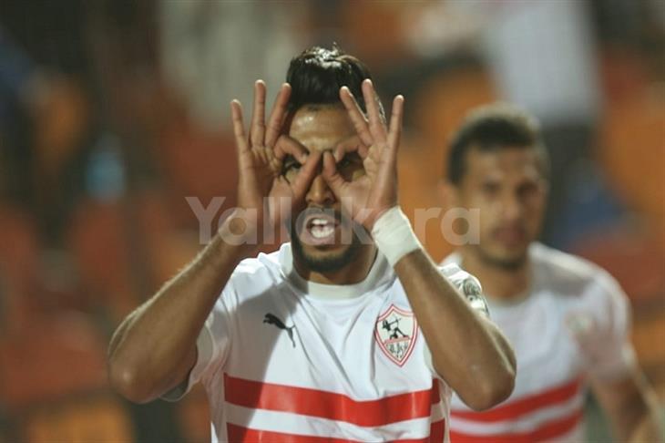 طارق مصطفى: أوناجم تلقى عروضًا للرحيل عن الزمالك.. وطالبته بالصبر