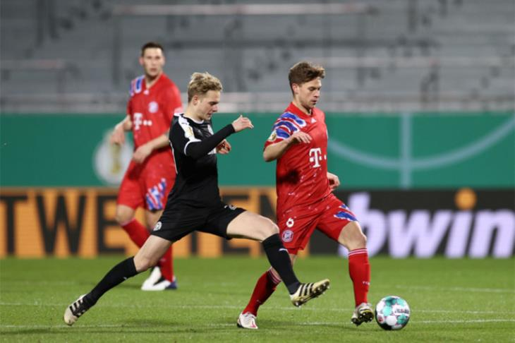 بايرن يودع كأس ألمانيا أمام فريق درجة ثانية بركلات الترجيح