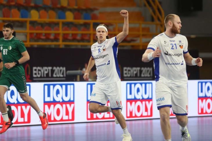 أيسلندا تفوز على الجزائر وتعزز فرصها في التأهل للدور الرئيسي بمونديال اليد