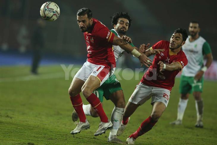 سلبية عينة أكرم توفيق واللاعب يشارك في المران