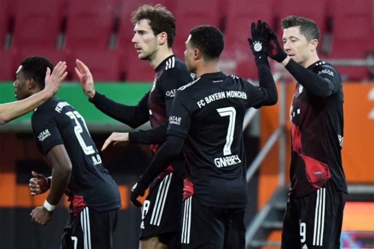 بايرن يتجاوز لايبزج بصعوبة ويبتعد بصدارة الدوري الألماني (فيديو)