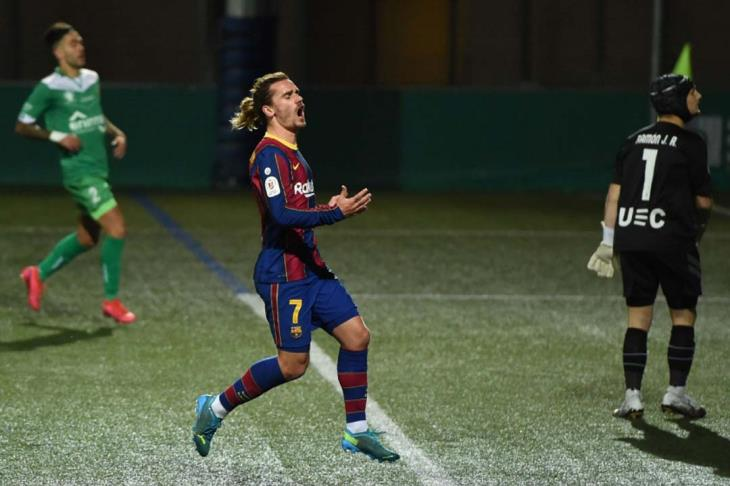برشلونة ينهي مغامرة كورنيا ويتأهل لثمن نهائي كأس إسبانيا