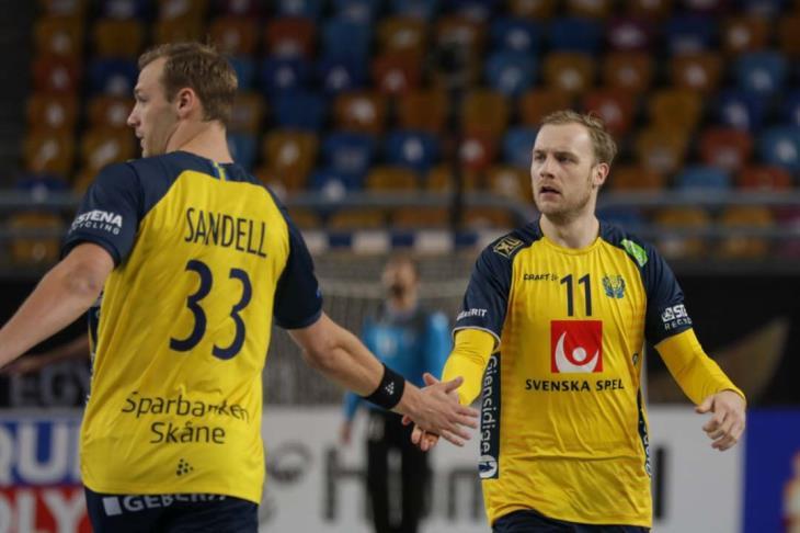 كرة يد.. السويد تلحق بألمانيا وتتأهل لأولمبياد طوكيو بإقصاء سلوفينيا