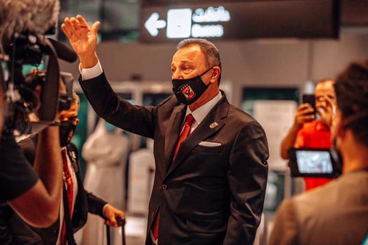 الخطيب رئيسًا لبعثة الأهلي في تونس