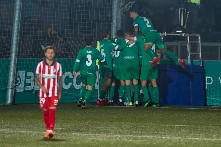 فريق درجة ثالثة يطيح بأتلتيكو مدريد من كأس ملك إسبانيا