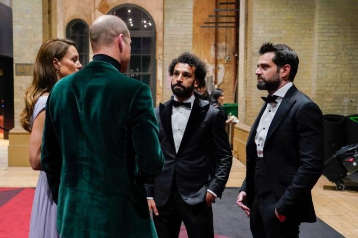 """صلاح يشكر الأمير ويليامز: ممتن لدعوتي لحضور حفل """"إيرث شوت"""""""