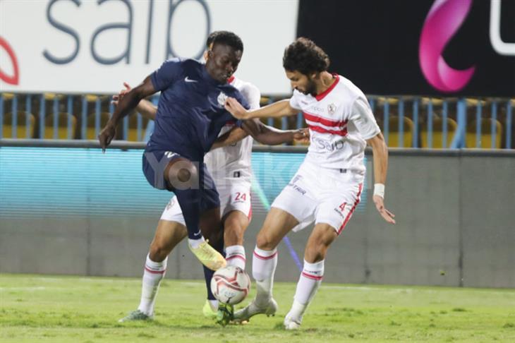 الزمالك: حكم مباراة إنبي ألغى إنذار محمود علاء وقيده بإسم المثلوثي