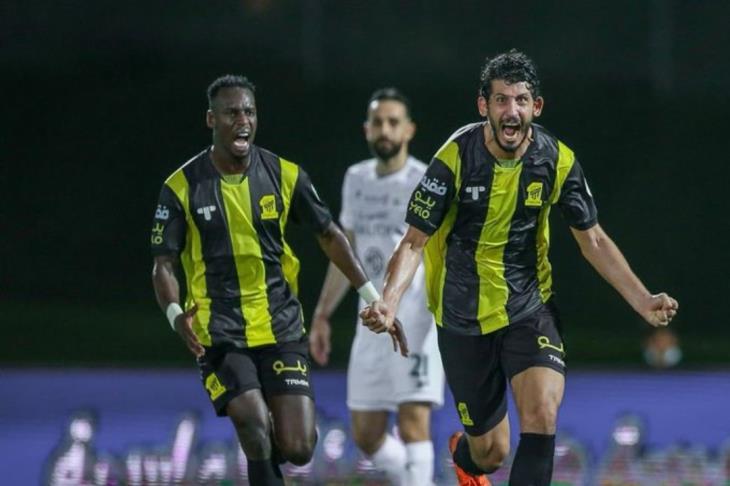 حجازي يسجل أول أهدافه مع الاتحاد في ديربي جدة (فيديو)