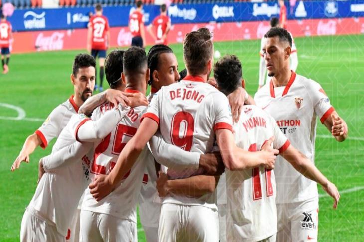 إشبيلية يرتقي إلى المركز الثالث بالدوري الإسباني.. ورقم تاريخي لبونو