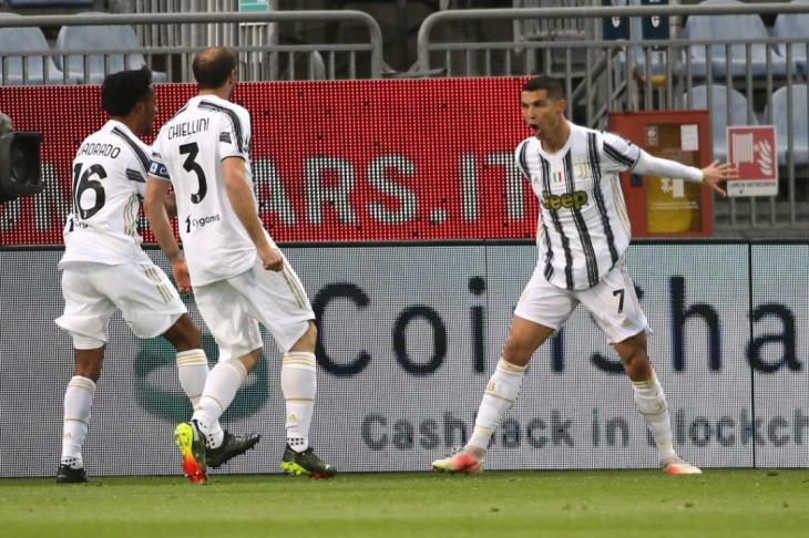 رونالدو ينقذ يوفنتوس من كمين تورينو بتعادل ثمين في الدوري الإيطالي (فيديو)