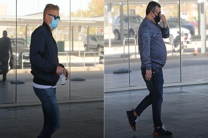 """""""استقلا سيارة لابورتا"""".. تقارير: والد هالاند ووكيله يصلان برشلونة (فيديو)"""