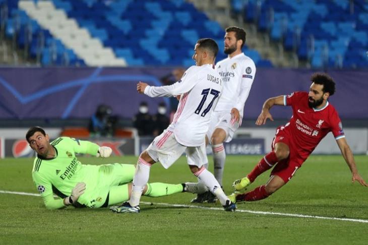 صلاح يسجل.. وريال مدريد يصعق ليفربول بذهاب ربع نهائي دوري الأبطال