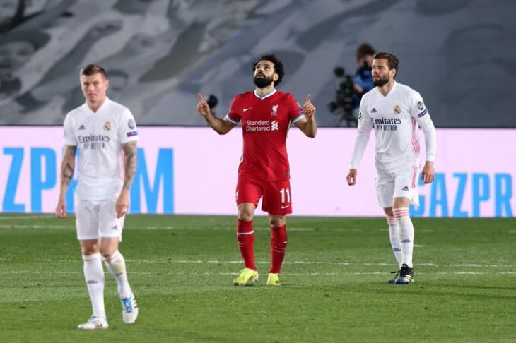 صلاح يبحث عن تكرار إنجاز جيرارد في موقعة ريال مدريد
