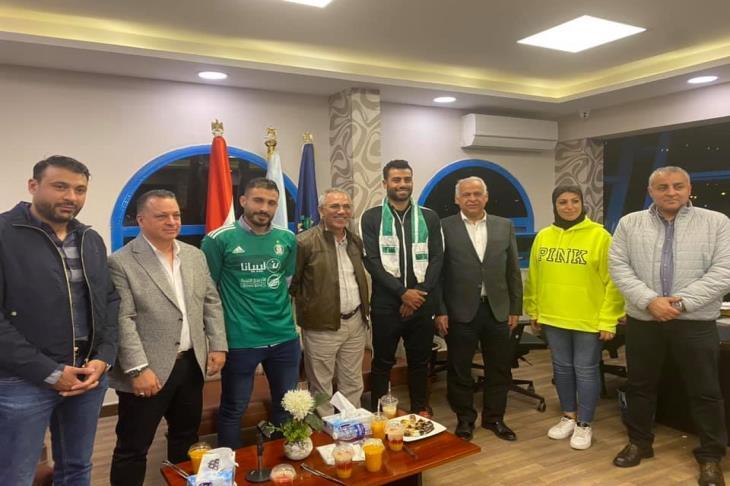 رسميًا.. سموحة يعلن إعارة حسام حسن والترهوني لأهلي طرابلس