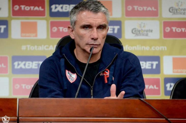 كارتيرون: لم نخرج بسبب الترجي.. الدوري أصعب من الأبطال.. وهدفنا الثنائية