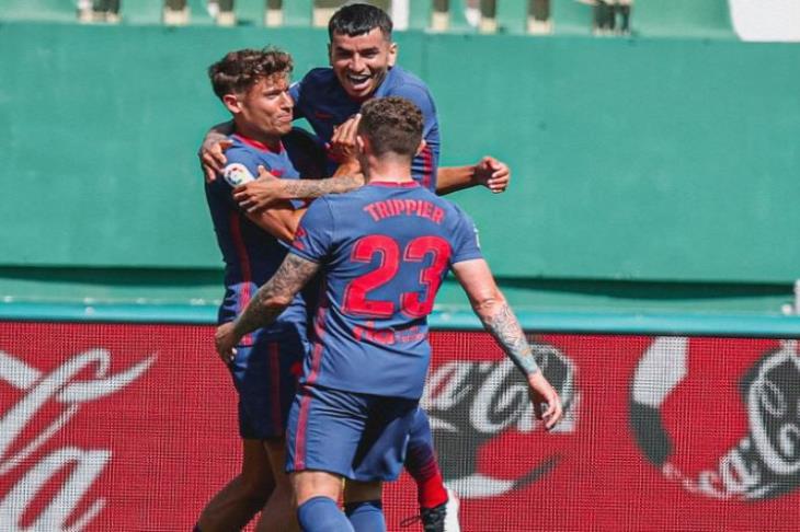 بالفيديو.. أتلتيكو مدريد يقترب خطوة جديدة من لقب الليجا بتجاوز إلتشي