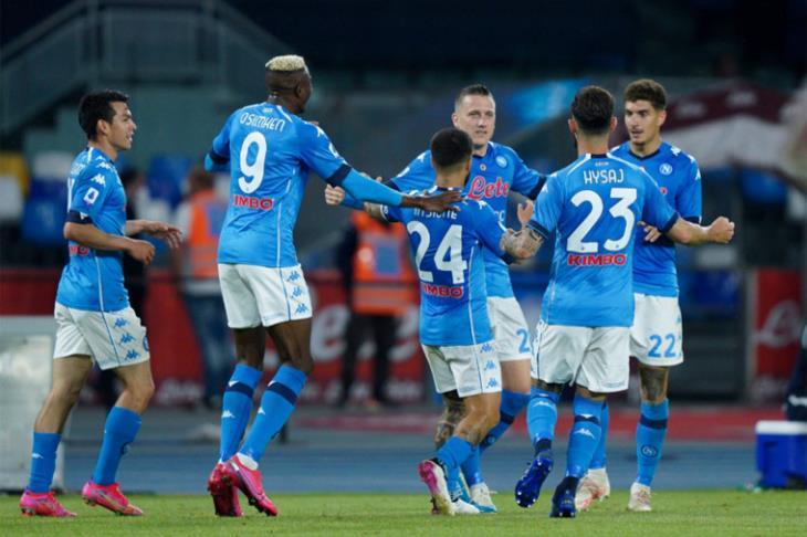 نابولي يكتسح أودينيزي بخماسية في الدوري الإيطالي (فيديو)
