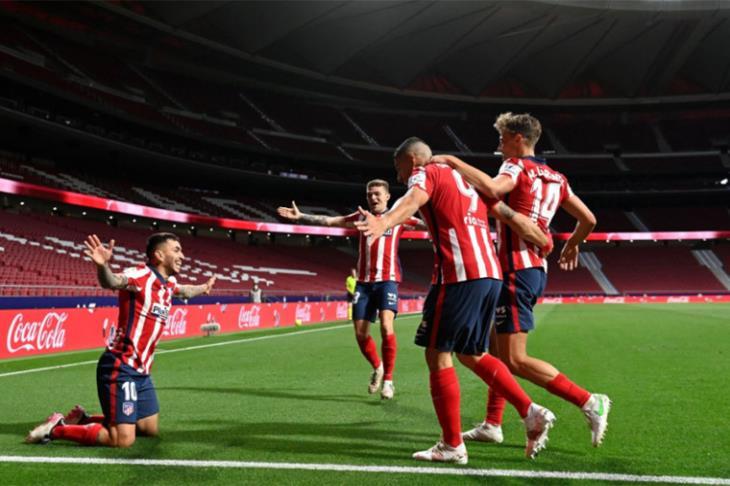 أتلتيكو مدريد يفوز على سوسيداد ويبتعد أكثر بصدارة الدوري الإسباني (فيديو)