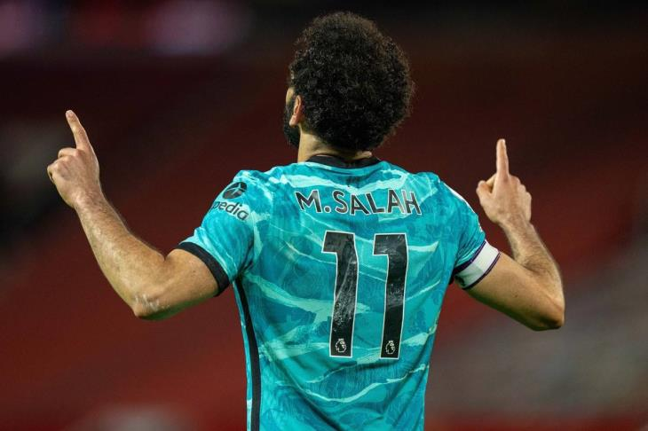 ليفربول يسرد أرقام استثنائية لصلاح احتفالاً بـ200 مباراة له مع الفريق