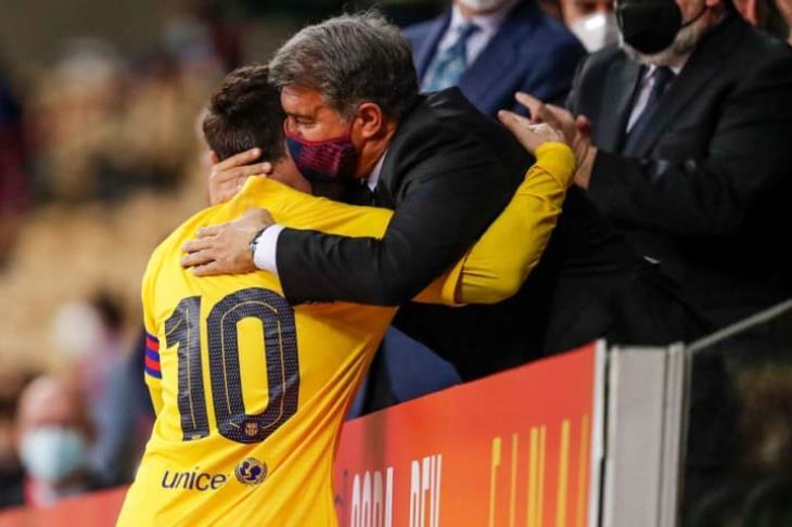 تقارير: لابورتا توصل لاتفاق مع ميسي للتجديد لبرشلونة