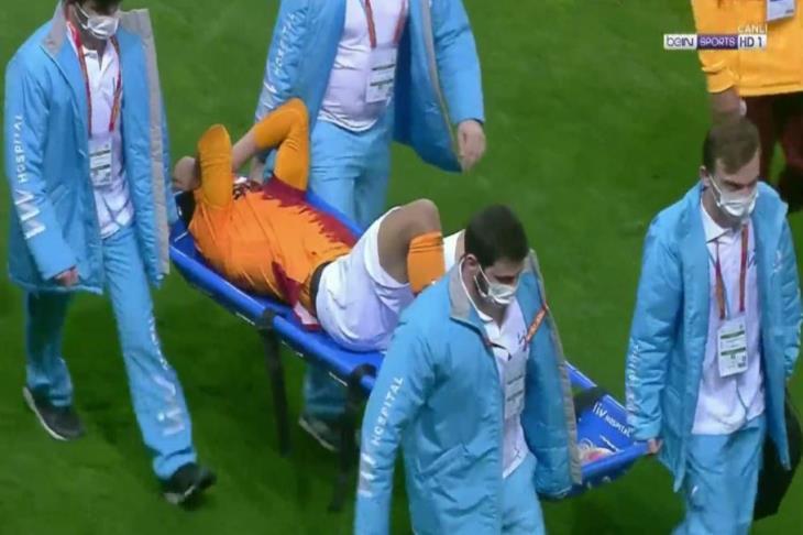 جالاتا سراي يُسقط بشكتاش.. ومصطفى محمد يغادر باكيا للإصابة (فيديو)