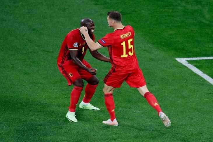 ثنائية لوكاكو تقود بلجيكا لاكتساح روسيا في يورو 2020