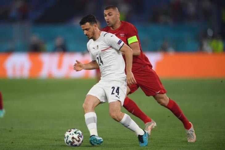 الشكوك تحوم حول مشاركة فلورينزي مع إيطاليا أمام سويسرا