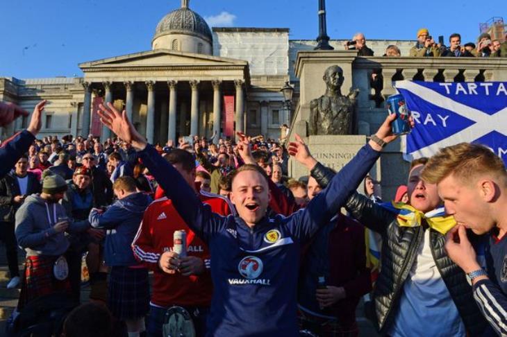 عمدة لندن يحذر جماهير أسكتلندا غير الحاملة للتذاكر من القدوم إلى ويمبلي