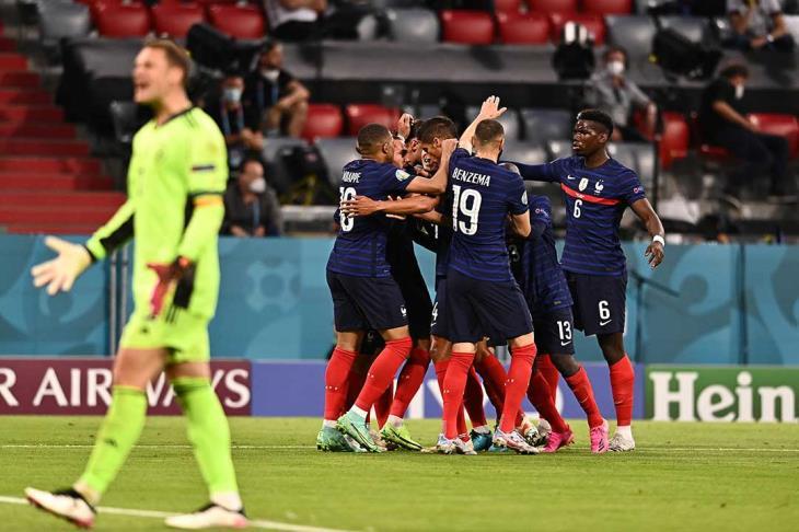 الفوز على ألمانيا يمنح فرنسا مزيدا من الهيبة في اليورو