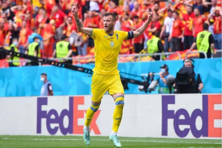 أوكرانيا تحقق الفوز على مقدونيا الشمالية وتحصد أول 3 نقاط في يورو 2020