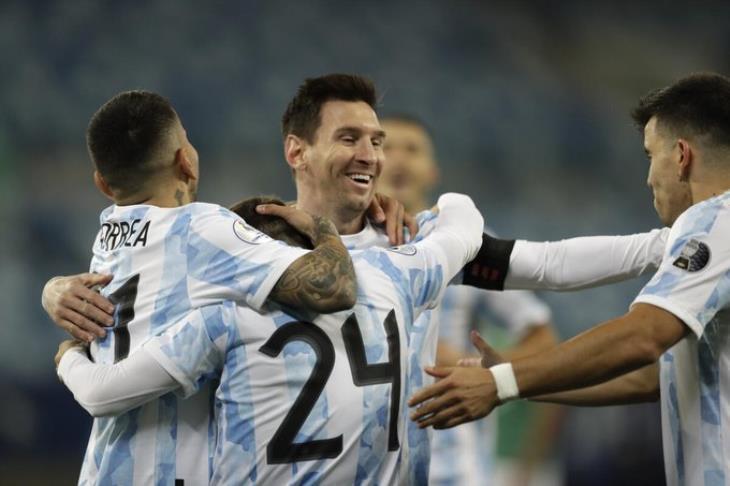 برباعية مقابل هدف.. الأرجنتين تكتسح بوليفيا في مجموعات كوبا أمريكا