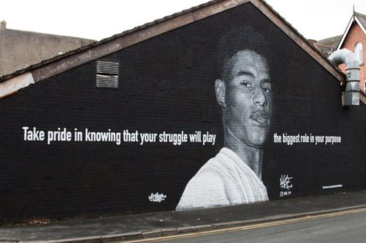 تخريب جدارية لراشفورد بعدخسارة إنجلترا لليورو.. والشرطة تحقق في الواقعة