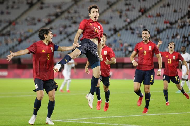إسبانيا تفوز على اليابان وتتأهل لمواجهة البرازيل في نهائي أولمبياد طوكيو