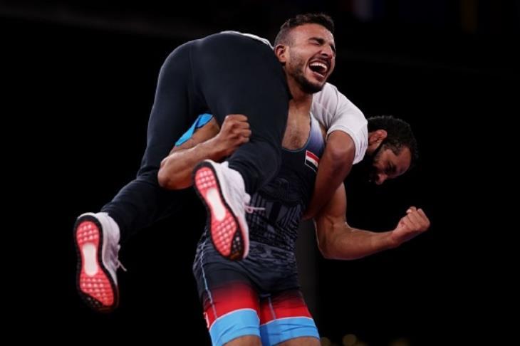 الثالثة لمصر.. كيشو يتوج ببرونزية المصارعة في أولمبياد طوكيو