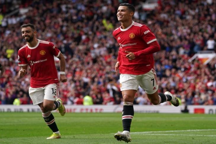 يوم برتغالي رائع.. رونالدو يسجل هدفين ويقود مانشستر يونايتد لضرب نيوكاسل بالأربعة