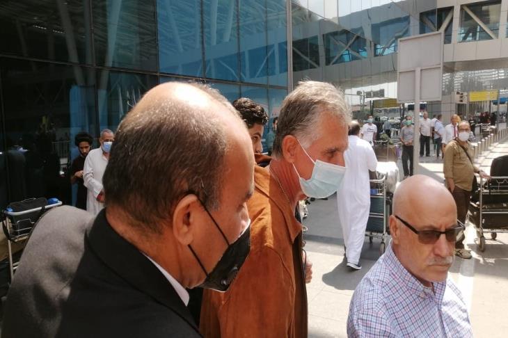 كيروش يصل القاهرة لبدء مهمته مع منتخب مصر